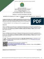 SEI_IFNMG - 0301607 - Edital - Diretor Geral Do Campus Diamantina