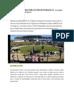 SITUACIÓN DEL SECTOR LÁCTEO EN PARAGUAY