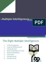 Multiple Intelligences PowerPoint