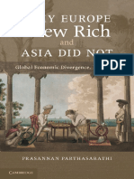 Why europe grew Rich and asia did not?