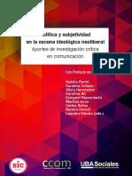 Politica y subjetividad en la escena ideológica neoliberal - N. Romé y otros
