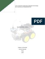 Diseño y Construcción de Un Automóvil a Escala Para La Aplicación de Tecnología Asistiva en Personas Con Discapacidad Móvil