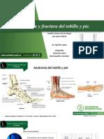 Luxación y Fractura Del Tobillo y Pie