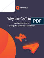 2019 09 04 CAT Introduction. Why Use CAT Tools eBook