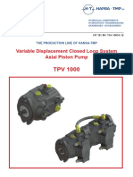TPV 1000 Closed Loop Variabel Displacement Axial Piston Pump (1)
