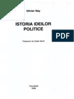 istoria ideilor politice