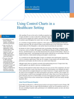 Control Charts Healthcare Setting