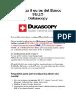 Tutorial Registro Cuenta Suiza SUIZO (R)