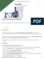 BancoEstado Microempresas _ Cuenta Emprendedor