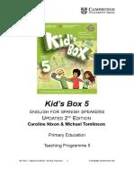 KB5_Updated+2Edition_TeachingProgramme_LOMCE_2015_eng