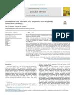 Development and Validation of a Prognostic Score to Predict Tuberculosis Mortality