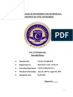 final report on internship