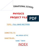 Physics Project File