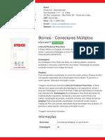 Bornes - Conectores Múltiplos - S61362FP