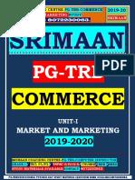 Pgtrb Commerce Unit 1 Study Material English Medium