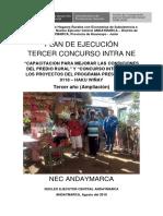 Plan Concurso III Intra Ne Andaymarca