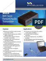 WREN WiFi Store Forward Audio Transmitter