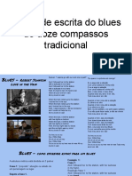 Escrita Blues Doze Compassos
