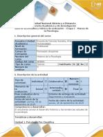 Guía de Actividades y Rúbrica de Evaluación - Etapa 1 - Raíces de La Psicología