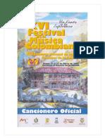 Cancionero de musica andina colombiana (Funmusica) año 2000