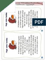 fichas de aprendizajen  comunicacion segundo grado