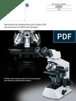 Microscopio cx 21