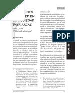 Relaciones de poder en la sociedad patriarcal - Ana Lucía Villareal Montoya