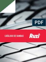 Catálogo de Bandas Ruzi Brasil 2018