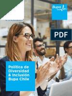 Politica Diversidad e Inclusión Bupa Chile