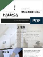 Hamaca Arquitectura Brief