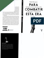 Riemen, R. (2017). Para combatir esta era.pdf