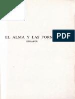Lukacs Georg - El Alma Y Las Formas