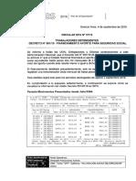 circular 37-19 TRABAJADORES DEPENDIENTES DECRETO N°561-19 - FINANCIAMIENTO APORTE PARA SEGURIDAD SOCIAL