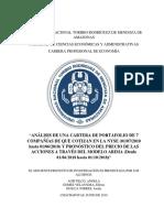 Análisis de Cartera de Portafolio de 7 Industrias