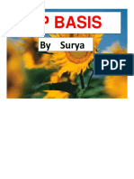 SAP BASIS document
