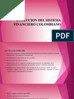 Evolucion Del Sistema Financiero Colombiano