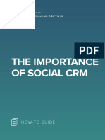 ANA The Importance of Social CRM