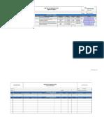 Formato para Matriz de comunicaciones
