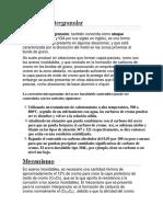 Corrosión intergranular (exposicion)
