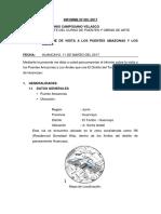 Informe Del Puente Amazonas y Los Andes