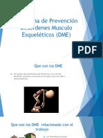 Desordenes Musculo Esqueléticos (DME) (1)