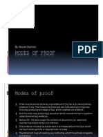 Modes of Proof