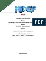 unidep evaluacion -S1A1