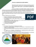 Caracteristicas de La Federación de Centro América