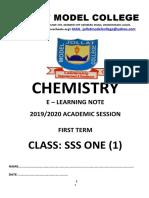 SSS1 1st-Term Chemistry