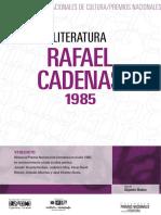 Rafael Cadenas. Literatura