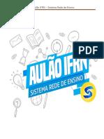 Aulao IFRN