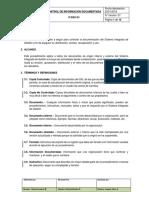 P-sgc-01_control de Información Documentada