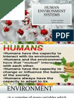 Human Environment System