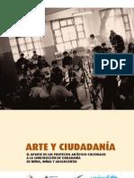 Arte y Ciudadania - UNICEF
